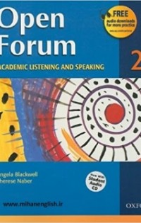 Open Forum 2 Student Book with Test Booklet & CD