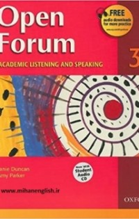 Open Forum 3 Student Book with Test Booklet & CD